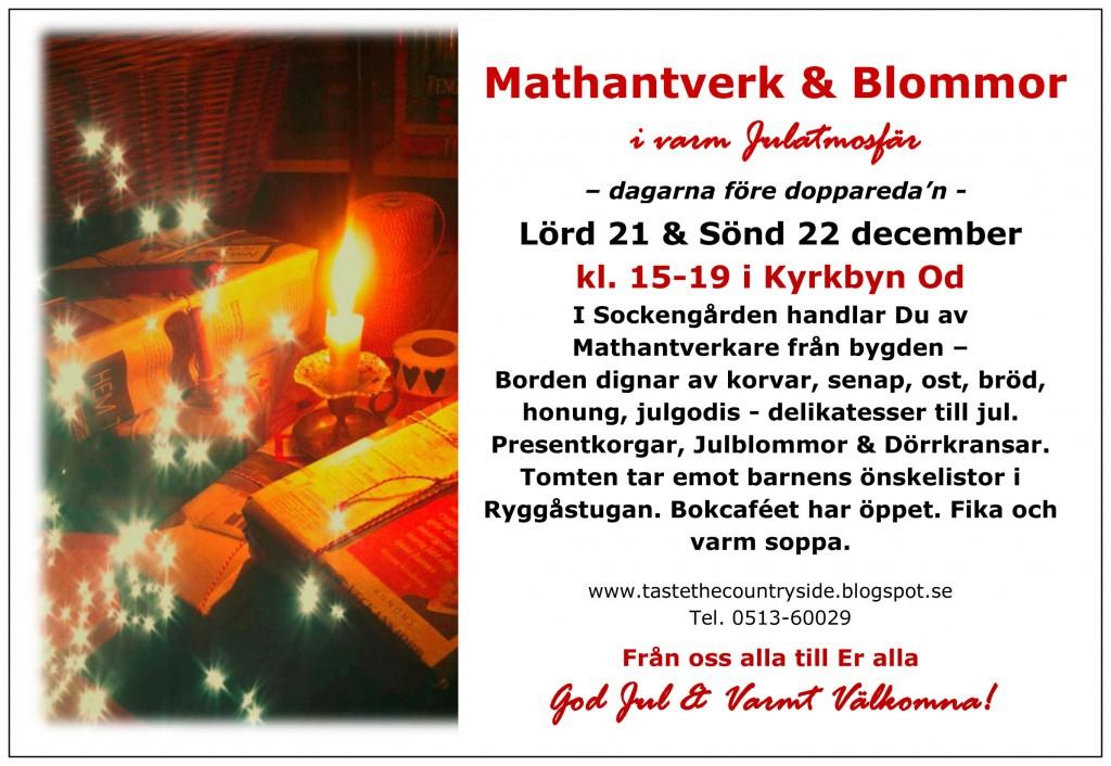 Affisch Jul