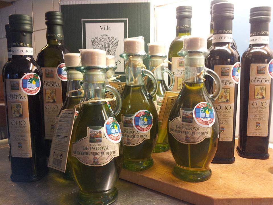 olivolja från Italien